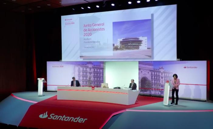 Los resultados del Banco Santander en el primer semestre de2020