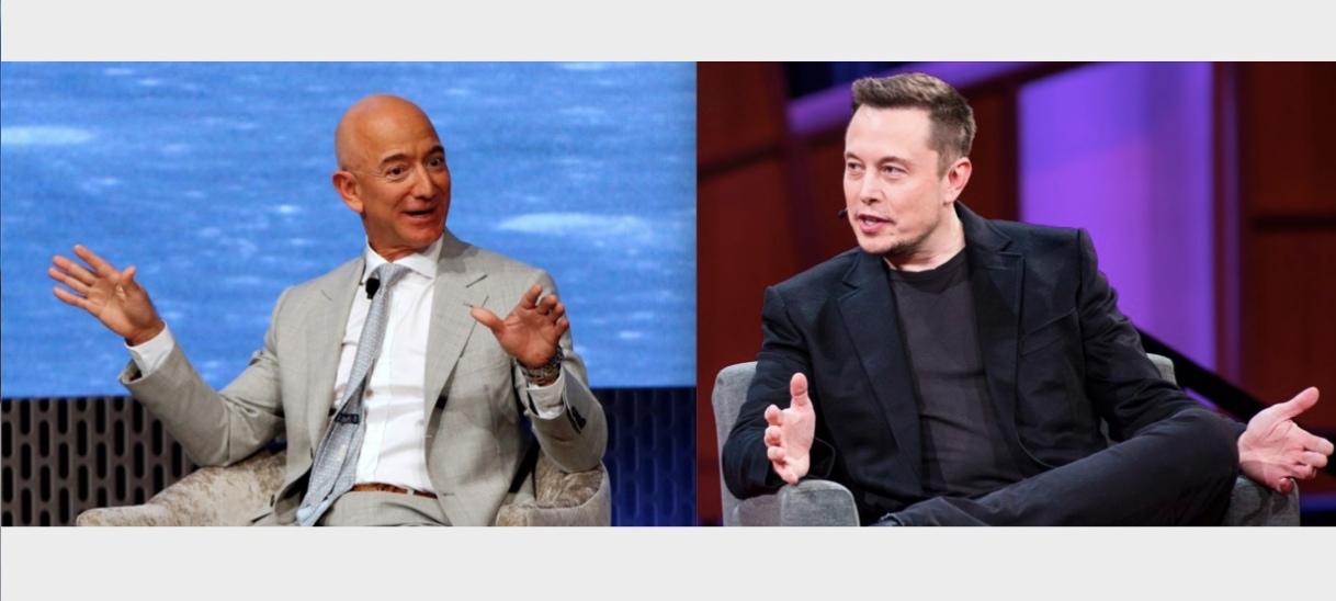 Cómo es posible que Bezos y Musk sean los más ricos del mundo si sus empresas apenas hacenbeneficios